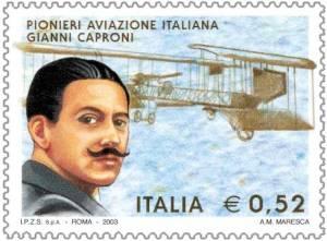 Gianni_Caproni_francobollo